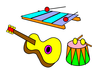 Screenshot: TouchMe HokusPokus musical instruments