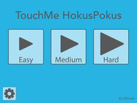 Screenshot: TouchMe HokusPokus Startseite