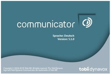 Bild: tobii Communicator 5